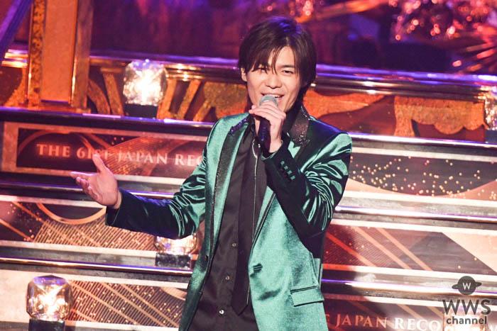 新浜レオンがレコ大のステージで『離さない 離さない』を披露!<第61回 輝く!日本レコード大賞>