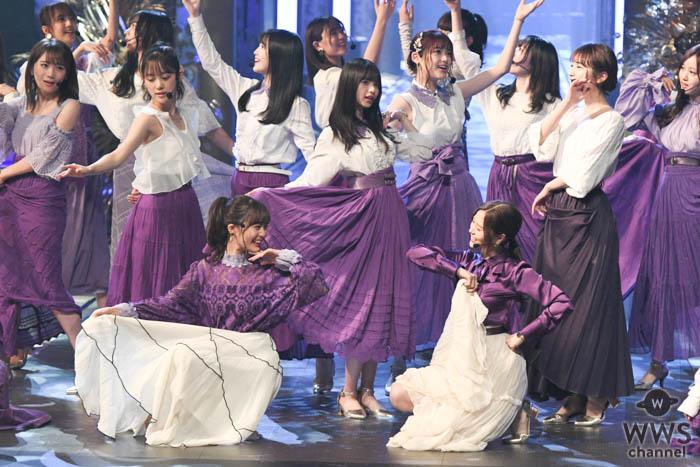 乃木坂46がレコ大に登場!クラップで「Sing Out!」を盛り上げる!<第61回 輝く!日本レコード大賞>