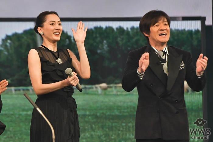櫻井翔、綾瀬はるか、内村光良、NHK紅白本番へ向けてステージでリハーサルに臨む<第70回NHK紅白歌合戦>