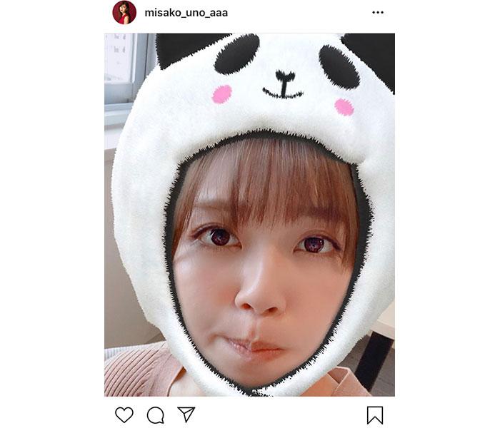 AAA 宇野実彩子のパンダ投稿に大反響!「何で何しても可愛いの」!!