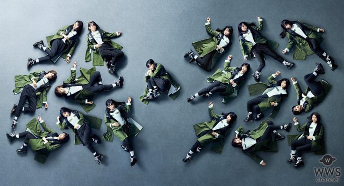 欅坂46、幕張メッセ無観客の中『黒い羊』を壮大な世界観でパフォーマンス<Mステ ウルトラ SUPER LIVE>