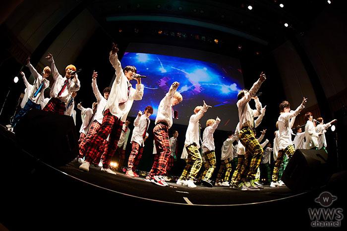 総勢43人による次世代ダンス&ボーカルグループVOYZ BOY、 今年4月自身のプライベートレーベルから念願のCDデビュー!
