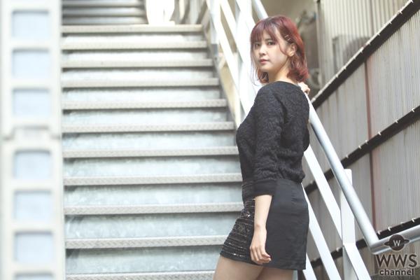 【動画】OIRC(仮)・萩ゆりのがクールなブラックコーデで岡山国際サーキットを語る!