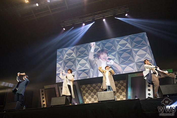【ライブレポート】4人組ボーカルグループFirst placeが、得意のハモりで東京オートサロン2020のステージを魅了!