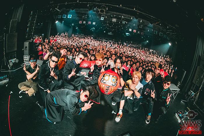 オメでたい頭でなにより全国2マンツアーが終了!1月11日(土)に開催された氣志團とのツアーファイナルのライブレポートが到着!