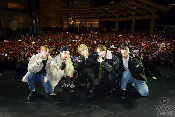 TOMORROW X TOGETHER、日本デビューシングル 「MAGIC HOUR」 発売記念イベントを六本木ヒルズアリーナで開催!