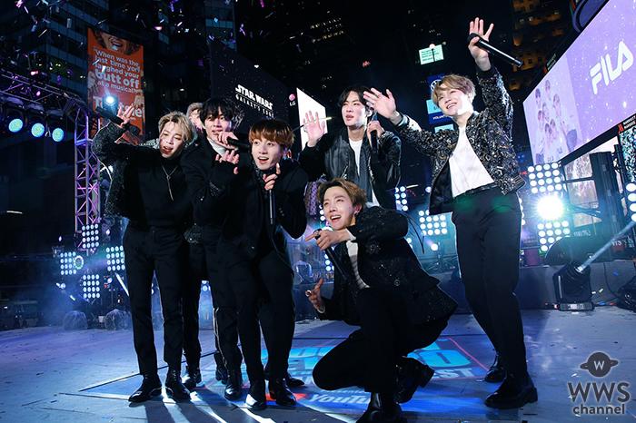 BTS、米ニューヨーク・タイムズスクエアで米最大新年ライブショー'NEW YEAR'S ROCKIN' EVE'で全世界の心を掴んだパフォーマンス!