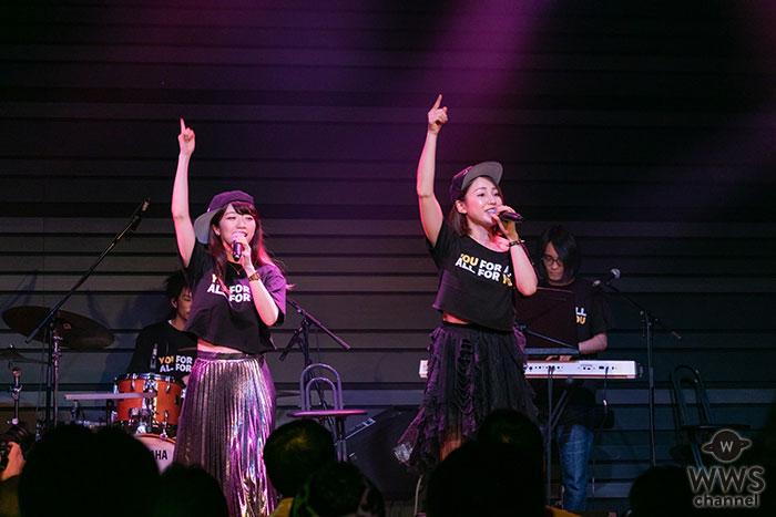 吉川友、ワンマンライブでぱいぱいでか美とラップで地元の情景を歌った新曲「都会のオンナ」を初披露!