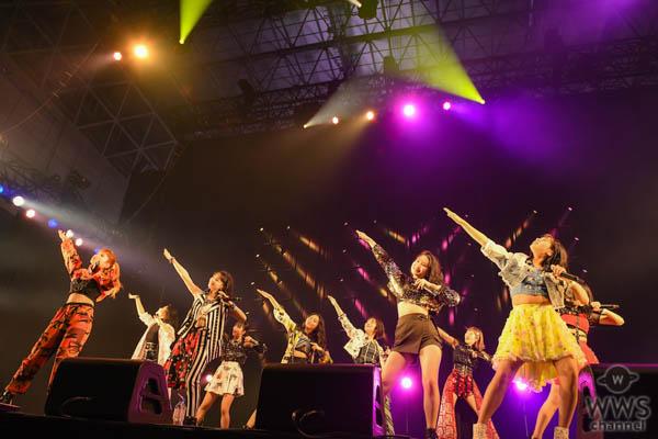 【ライブレポート】アンジュルムがライブアンセム『大器晩成』でCOSMO STAGEを魅了する!<COUNTDOWN JAPAN 19/20>