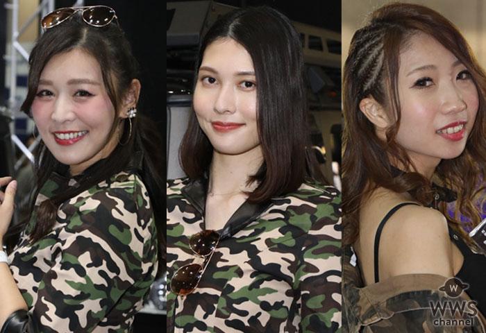 【写真特集】美人コンパニオンが大集結!東京オートサロン2020に芹沢ゆうか、宮崎彩らがセクシーコスチュームで参戦!