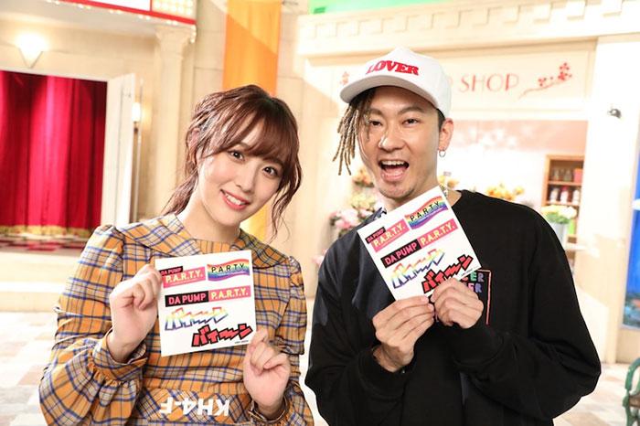 DA PUMP TOMOとSKE48 鎌田菜月は地元の先輩と後輩だった!DA PUMPによるSKE48『ソーユートコあるよね?』のMV振り付け動画も公開
