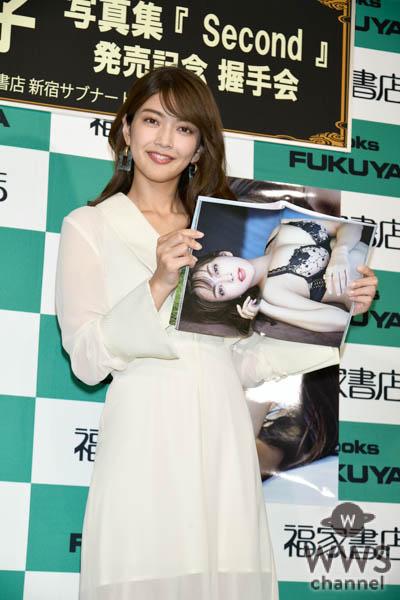 田中道子、2nd写真集 発売記念イベントに出演!