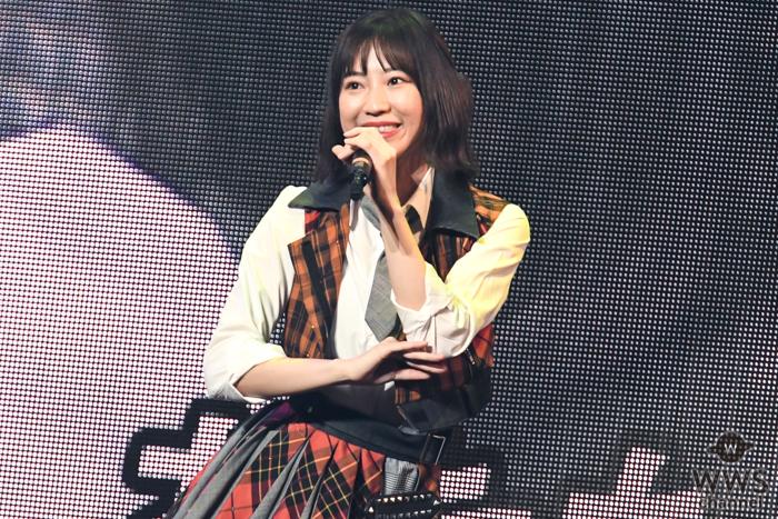 SKE48 日高優月、ど直球アイドルソング『彼女になれますか?』で溢れ出す彼女感!<SKE48選抜メンバーコンサート>