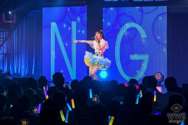 【ライブレポート】NGT48 本間日陽、怒涛の20曲連続メドレーに故郷・村上市への愛を込める<本間日陽ソロコンサート>