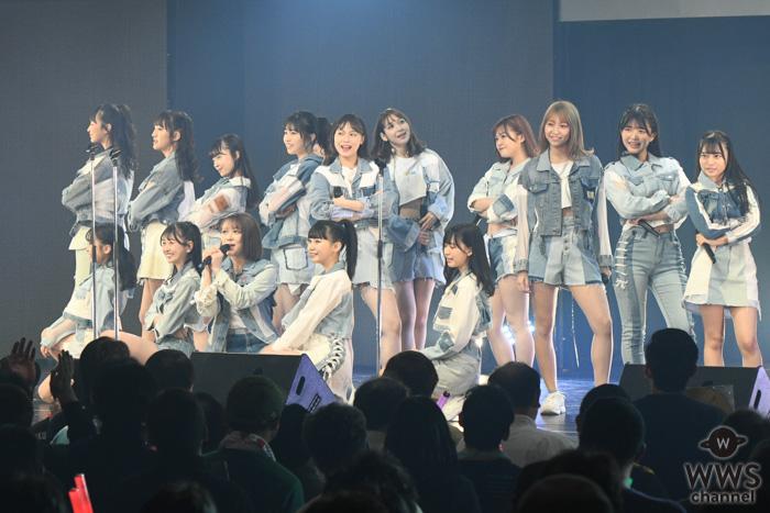 【ライブレポート】HKT48、村重ワールド全開で起こった2時間のセンター交代劇「切り替え速いな!」<AKB48グループ TDCホールライブ祭り>