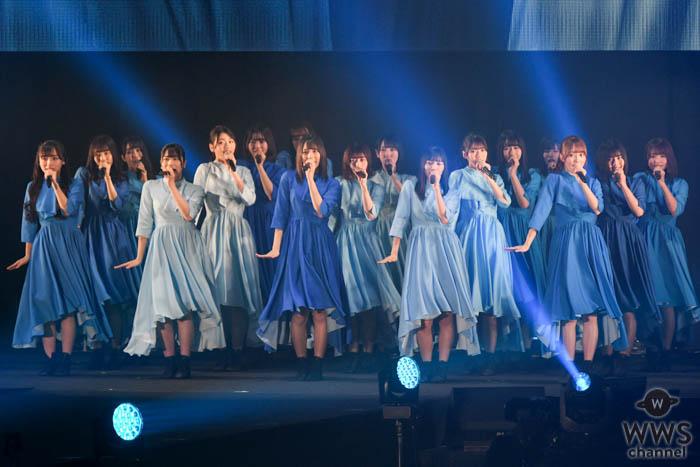 日向坂46がアーティストステージでライブ披露!ハッピーオーラ