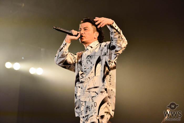 【ライブレポート】デビュー15周年のKREVAがCOUNTDOWN JAPANに登場!自画自賛のラップスキルで圧巻のステージを展開<COUNTDOWN JAPAN 19/20>