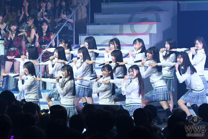 SKE48 9期生がリクアワ初登場!『滑り台から』をキレキレダンスでパフォーマンス!<AKB48リクアワ2020>