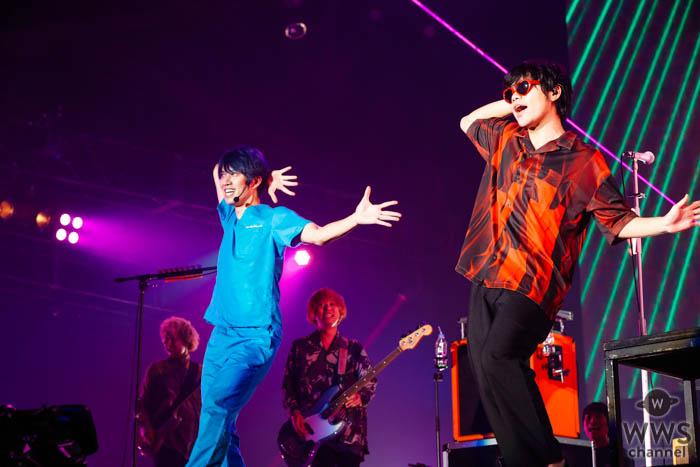 【ライブレポート】お祭りバンドKEYTALKのステージにしゅんしゅんクリニックPがサプライズ登場!念願のコラボレーションが実現!<COUNTDOWN JAPAN 19/20>