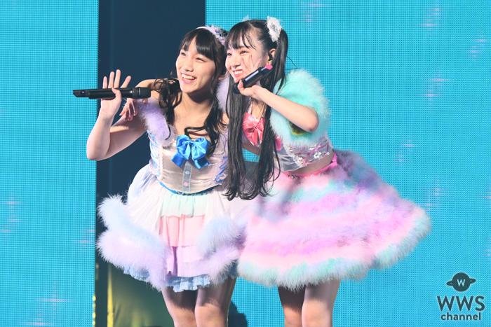 SKE48 末永桜花ソロコンに片岡成美がサプライズで登場!同期で歌う『微笑みのポジティブシンキング』<末永桜花ソロコンサート>