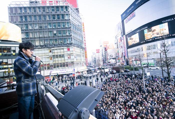 木村拓哉が2000人の観衆を前にサプライズ登場!