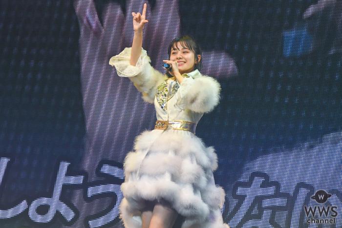 NGT48 本間日陽、ソロコンで『LOVEマシーン』を熱唱!<本間日陽ソロコンサート>