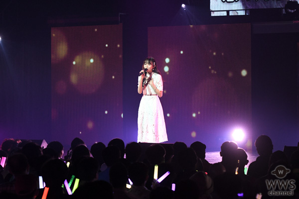 SKE48 野島樺乃、緊張のソロステージで甘酸っぱい『ショートケーキ』を届ける<SKE48選抜メンバーコンサート>