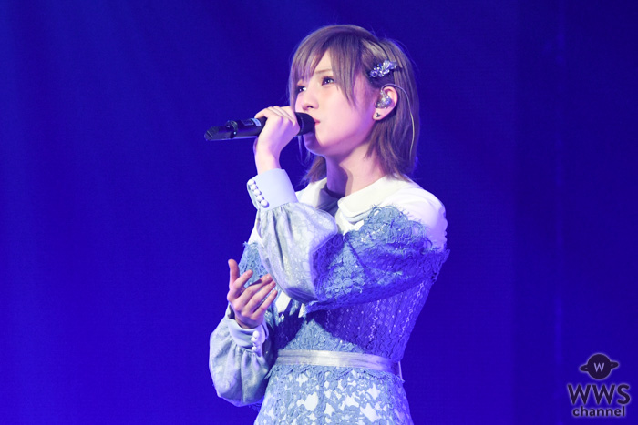 STU48 岡田奈々、瀧野由美子のサックスに乗せて『瀬戸内の声』をソロパフォーマンス<AKB48グループ TDCホールライブ祭り>