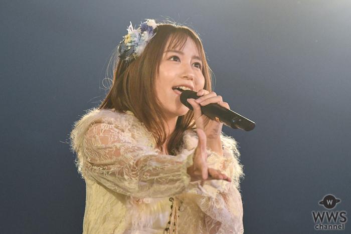 SKE48 大場美奈、キラキラとしたアイドルオーラ全開の『コップの中の木漏れ日』を届ける!<SKE48選抜メンバーコンサート>