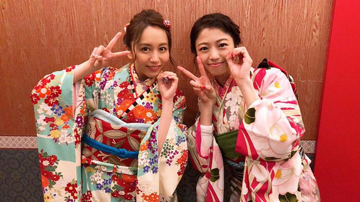 SKE48 大場美奈が艶やかな着物ショット公開!番組で見せた熱湯芸に「なんだ、このかわいらしさは」「新年初笑い最高でした」