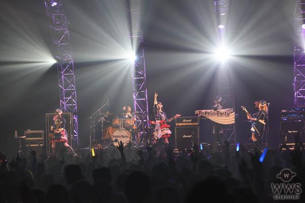 【ライブレポート】声優ガールズバンドPoppin'Partyが初登場!CDJ19/20でオーディエンスを魅了!<COUNTDOWN JAPAN 19/20>