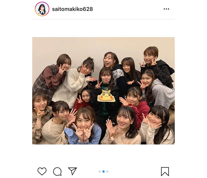 SKE48、新年最初の公演は谷真理佳の生誕祭!終演後にはチームEで新年会も