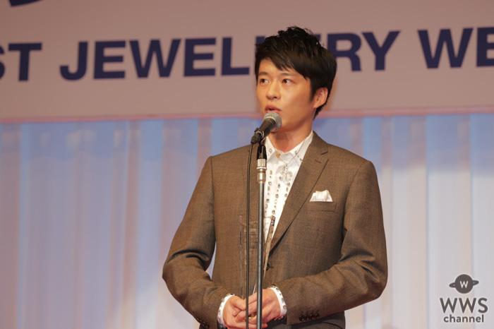 俳優・田中圭が「第31回日本ジュエリーベストドレッサー賞」男性部門を受賞!