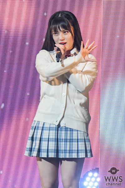 SKE48 竹内彩姫、松井玲奈の衣装と共にハタチの決意を込めた『前のめり』を披露<SKE48選抜メンバーコンサート>
