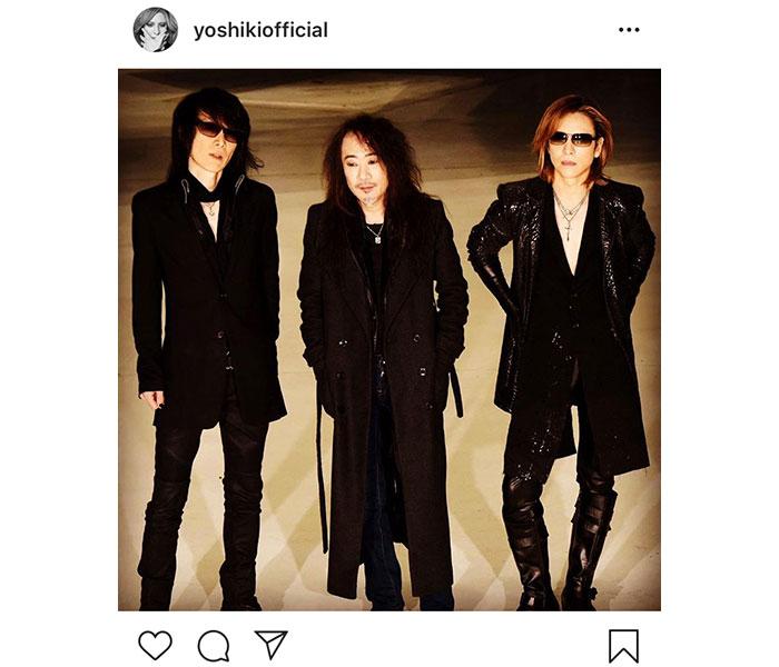 X JAPAN YOSHIKIがHEATHのバースデーを祝福!1月30日にはPATAを迎え生放送も