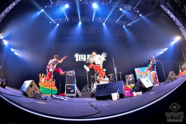 【ライブレポート】四星球が作り上げた笑顔で溢れたショータイム<COUNTDOWN JAPAN 19/20>