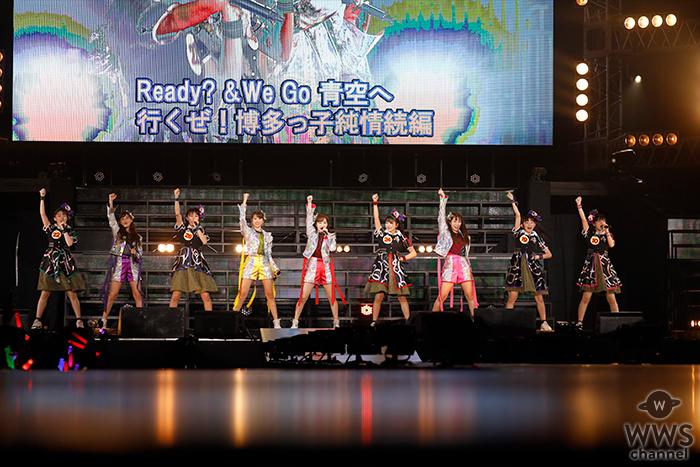 ばってん少女隊がデビュー曲から最新曲までを凝縮した4曲を「スタプラアイドルフェスティバル」で披露!