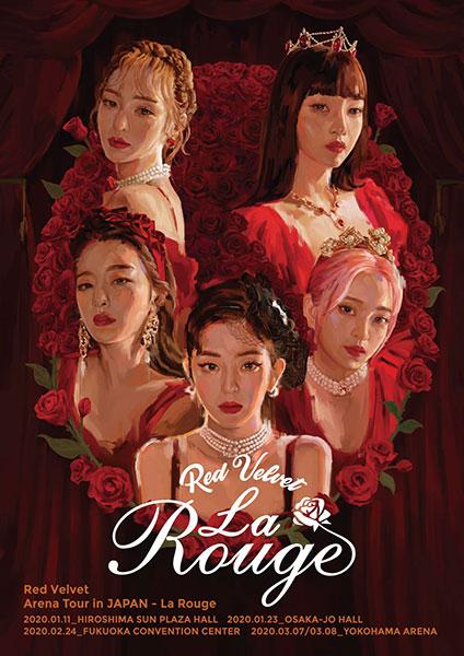 Red Velvetが特別映像を公開!話題の日本アリーナツアーで新たな一面を披露!!