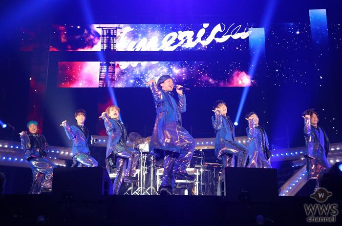 """DA PUMP、現メンバー初となるアリーナツアースタート! 初披露の新曲「Heart on Fire」は、2秒で覚えられる""""つり革ダンス"""""""
