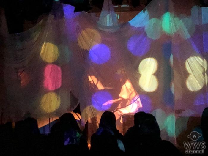 糸奇はな、初の個展開催をワンマンライブで発表!