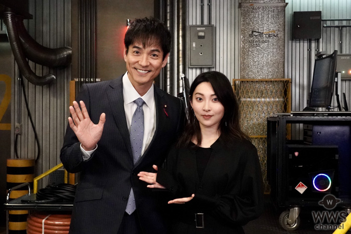 家入レオ、月9『絶対零度』撮影現場訪問で沢村一樹に人生相談!