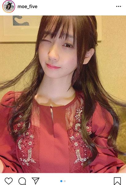 伊織もえがロングヘアーの清楚系お嬢様カットを公開!「激しく可愛い」「長い髪も似合ってます!」