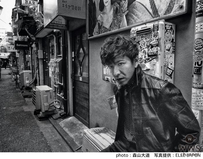 木村拓哉が「エル・ジャポン」で明かす忌野清志郎の存在。世界的写真家・森山大道による撮り下ろしカットも
