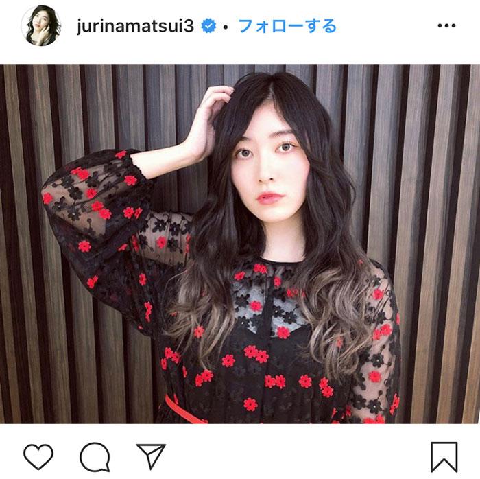 SKE48 松井珠理奈が黒髪ロングヘアーにイメチェン!「美しい」「めちゃめちゃ素敵」「ますます好きになりました」