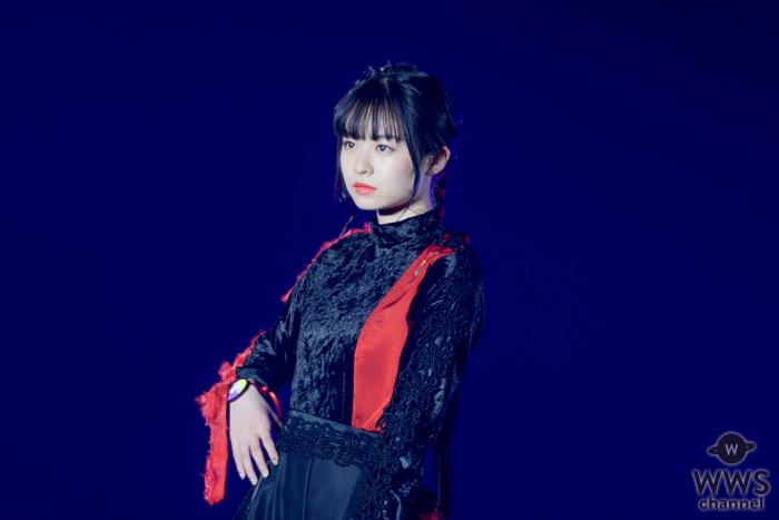 モデル 莉子が東京ガールズコレクションの『月とオオカミちゃんには騙されない』ステージでランウェイ!<TGC 2020 S/S>