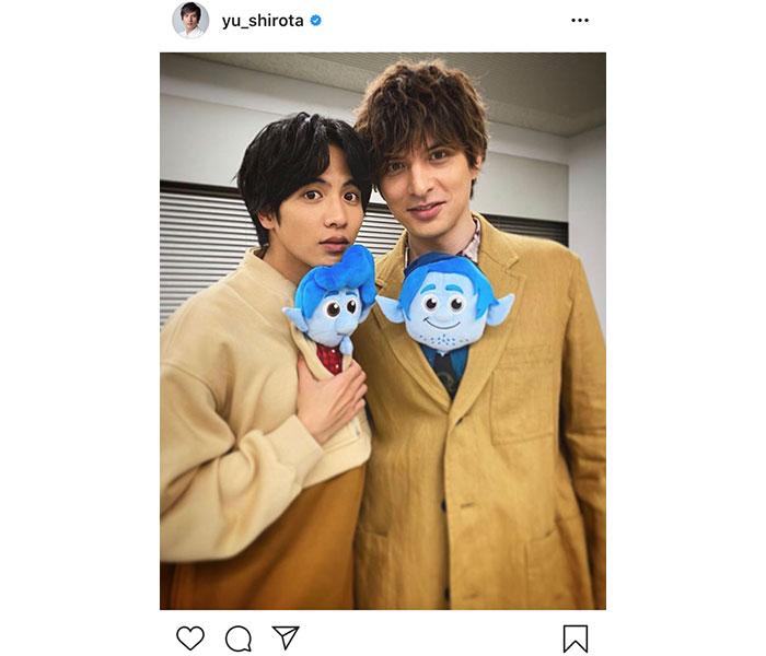 城田優、志尊淳とピクサー最新作『2分の1の魔法』2ショット公開!「イケメン兄弟だね」「お二人とも可愛いです」と話題に