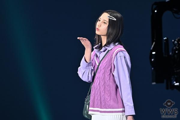 日向坂46 齊藤京子が東京ガールズコレクション「17kg」ステージに登場!<TGC 2020 S/S>