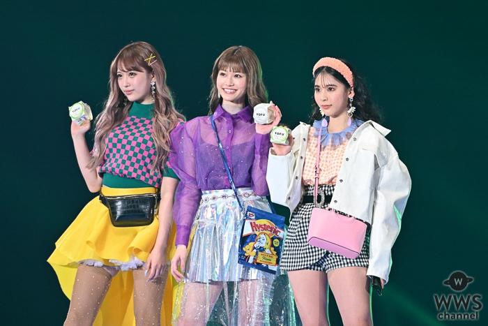 ミチ、生見愛瑠、伊藤桃々が「東京ガールズコレクション」で相模屋とうふグルメを紹介!<TGC 2020 S/S>