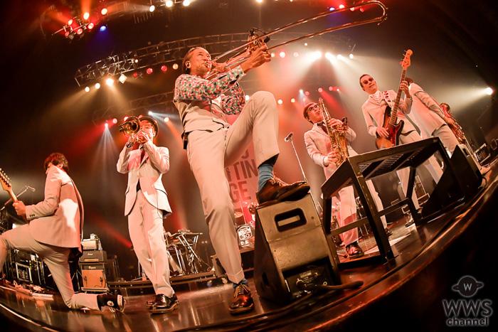 東京スカパラダイスオーケストラ(スカパラ)が会場を大熱狂の渦へ!「TOKYO CUTTING EDGE Vol.3」開催