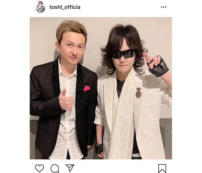Toshl、『UTAGE!』共演のDA PUMP ISSAを大絶賛!「日本の若者は素晴らしい」